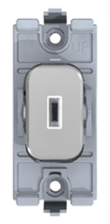 Schneider Lisse Deco 20A Double Pole Key Switch Polished Chrome GGBL20DPKPC