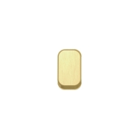 Schneider Lisse Deco Screwless Satin Brass Rocker Cap GGBLRSB