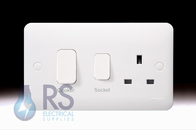 Schneider Lisse Cooker Control With 13A Socket GGBL4001