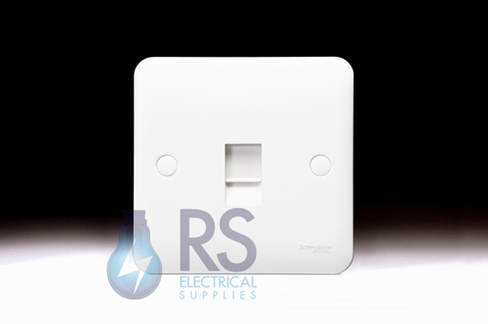 Schneider Lisse RJ45 Single Socket CAT 6 UTP GGBL7071C6