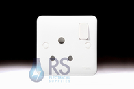 Schneider Lisse White 15A Switched Socket GGBL3090