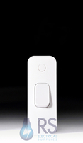 Schneider Lisse White Architrave Light Switch 1Gang 2Way GGBL1012A