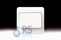 Schneider Lisse White Light Switch Wide Rocker 1Gang 2Way GGBL1012W