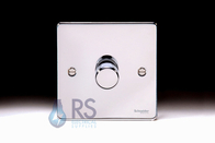 Schneider Low Profile 1g Dimmer Polished Chrome GU6512CPC