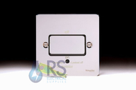 Schneider Low Profile Fan Isolator Switch Polished Chrome GU1513BPC
