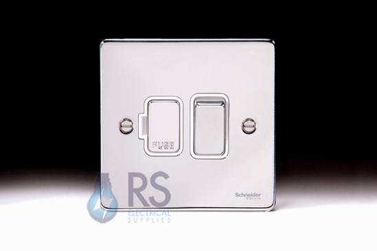 Schneider Low Profile Switched Spur Polished Chrome GU5510WPC