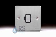 Schneider Low Profile Unswitched Spur Brushed Chrome GU5500BBC