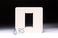 Schneider Screwless Euro Modular Plate White Metal 1G GU8450PW