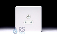 Schneider Screwless Flat Plate 5 Amp Socket Gloss White GU3480WWH