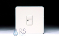 Schneider Screwless Flat Plate Electronic Dimmer Switch White Metal GU6412EWPW