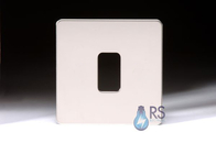 Schneider Ultimate Screwless Polished Chrome 1G Grid Plate GUGS01GMS
