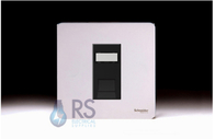 Schneider Screwless Flat Plate RJ45 Socket Polished Chrome GU7471MBPC