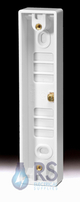 Schneider Ultimate Slimline Double 16mm Architrave Pattress GPAT2G16A