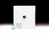Schneider Ultimate Slimline White Moulded 20A Front Flex Outlet GU2003