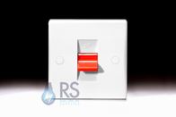 Schneider Ultimate Slimline White Moulded 50A DP Switch GU4010