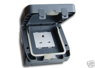Schneider Weatherproof Socket Single IP66 GWPIU3050