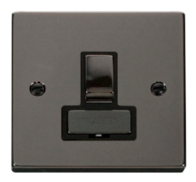 Scolmore Click Deco Black Nickel Ingot Switched Spur VPBN751BK