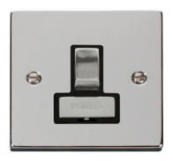 Scolmore Click Deco polished Chrome Ingot Switched Spur VPCH751BK