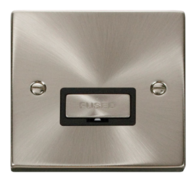 Scolmore Click Deco Satin Chrome Ingot Unswitched Spur VPSC750BK
