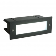 Seina 4.5w Daylight Brick Wall Light Black