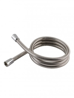 Shower Hose 1.25m 11mm Cone x Cone Stainless Steel HAB