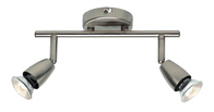 Spotlight 2 x 50w Amalfi Twin Satin Nickel G2521313