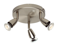 Spotlight 3 x 50w Amalfi Triple Satin Nickel G2523413