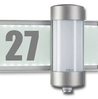 Steinel Design Sensor Switched Outdoor Light with House Number L625 LED