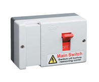 Click Scolmore Switch Fuse Moulded Single Pole Both Live & Neutral Switched DB750