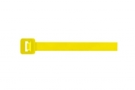 Unicrimp Cable Ties 300 x 4.8mm Yellow (100 pack) QTY300S