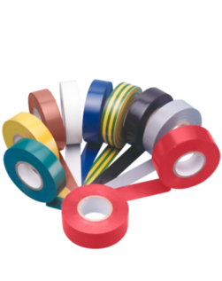 Unicrimp Electrical Insulation Tape PVC 19mm x 33mm Brown 1933BR