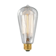 Vintage Filament Light Bulb ES 40W Clear 18503