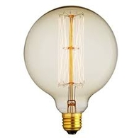 Vintage Filament Light Bulb Globe ES 40W Clear 17787