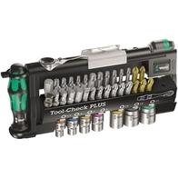 Wera WE056490 Tool Check Mini Bit Ratchet Socket & Bit Set 39 Piece