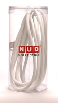Whipped Cream White Textile Flex Cable 3 Core NUD Collection 6Mtr TT-01A/3C/6M