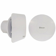 Xpelair Simply Silent Contour C4HTSR 100mm Humidistat & Timer Extractor Fan 078360
