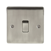 BG Electrical BG Electrical BG Nexus Metal Brushed Iridium
