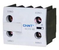 Chint Chint Chint NC6 Contactor 2 Pole Auxiliary Blocks