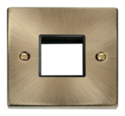 Click Deco Antique Brass Mini Grid Switches