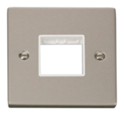 Click Deco Pearl Nickel Mini Grid Switches