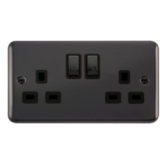 Scolmore Click Deco Plus Black Nickel Switches & Sockets