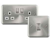 Scolmore Click Deco Plus Satin Chrome
