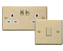 Scolmore Click Deco Polished Brass