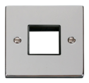 Click Deco Polished Chrome Mini Grid Switches