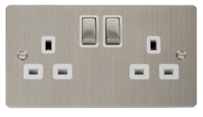 Click Define Stainless Steel Switches & Sockets