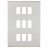 Knightsbridge Screwless Grid Faceplates