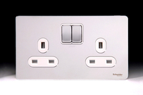 Schneider Electric Schneider Electric Schneider Ultimate Screwless Polished Chrome